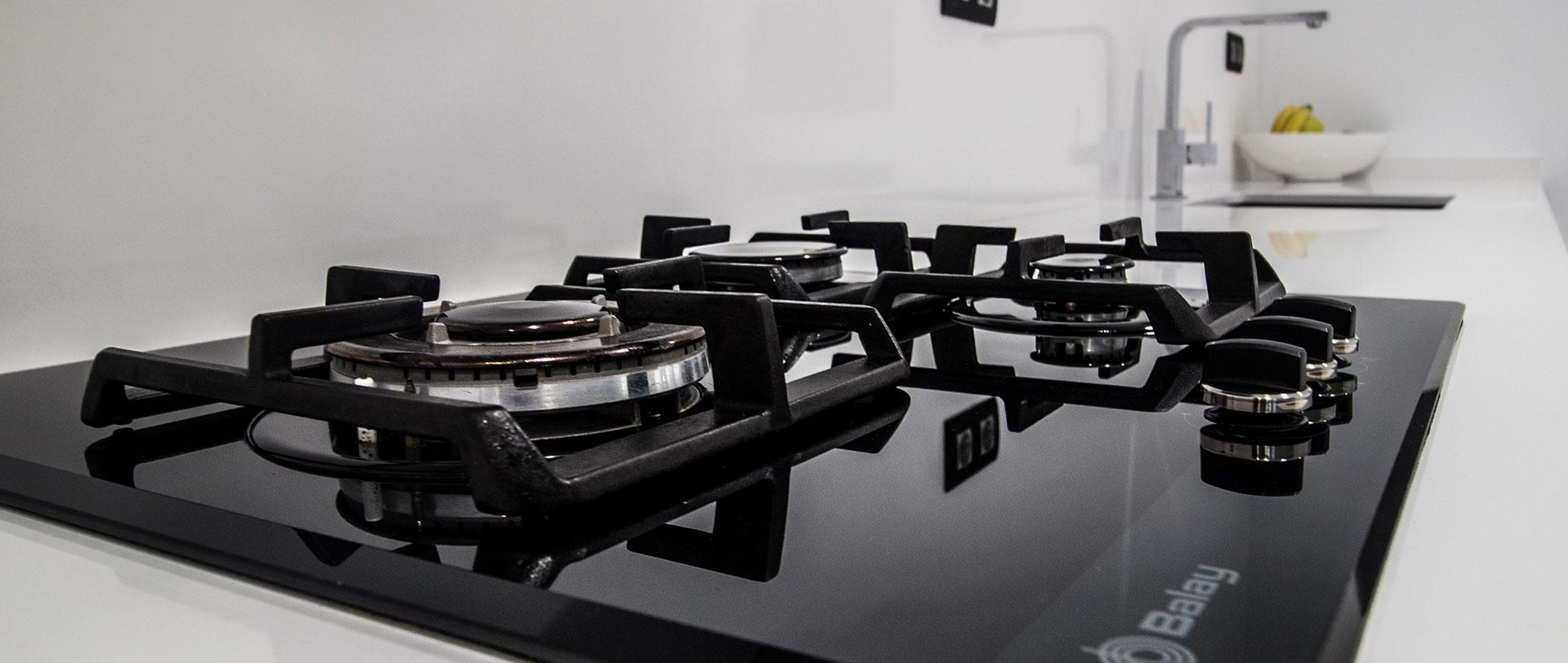 Detalle de cocina. Reforma y diseño de cocina en Centro, realizado por Dromstudio