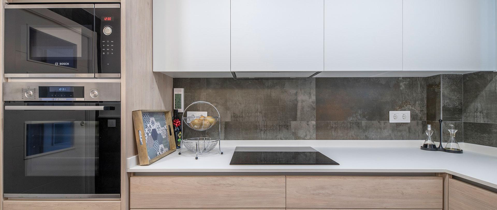 Diseño de interior para cocina en Avenida Canal, realizado por Dromstudio
