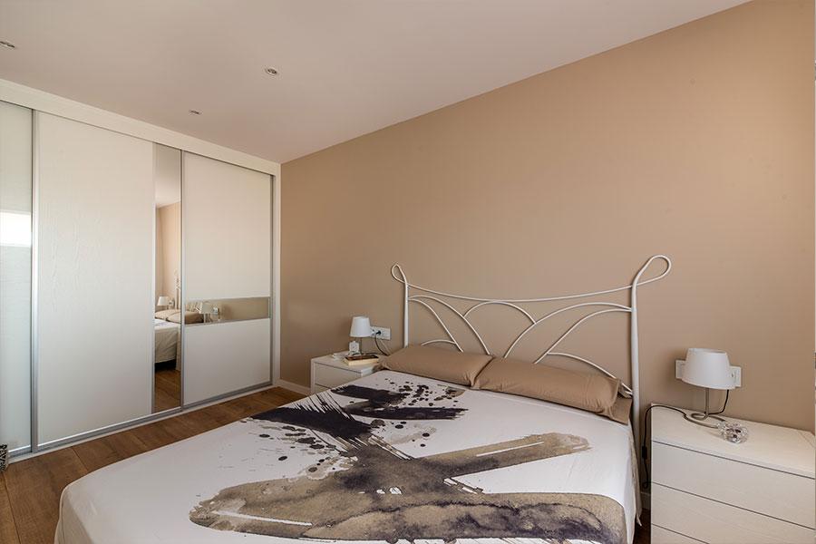 Diseño de interior para dormitorio en Avenida Canal, realizado por Dromstudio