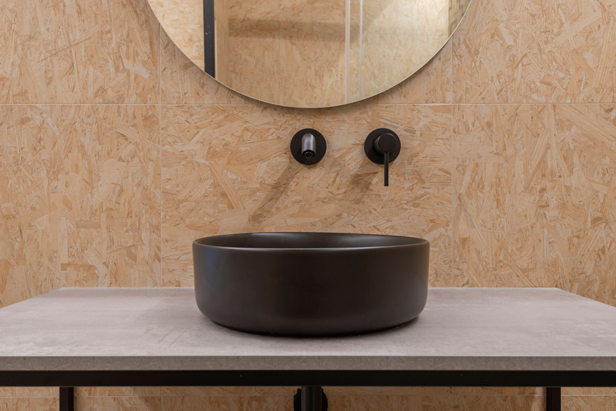 Reforma y diseño de baño en Eusebi Soler, realizado por Dromstudio