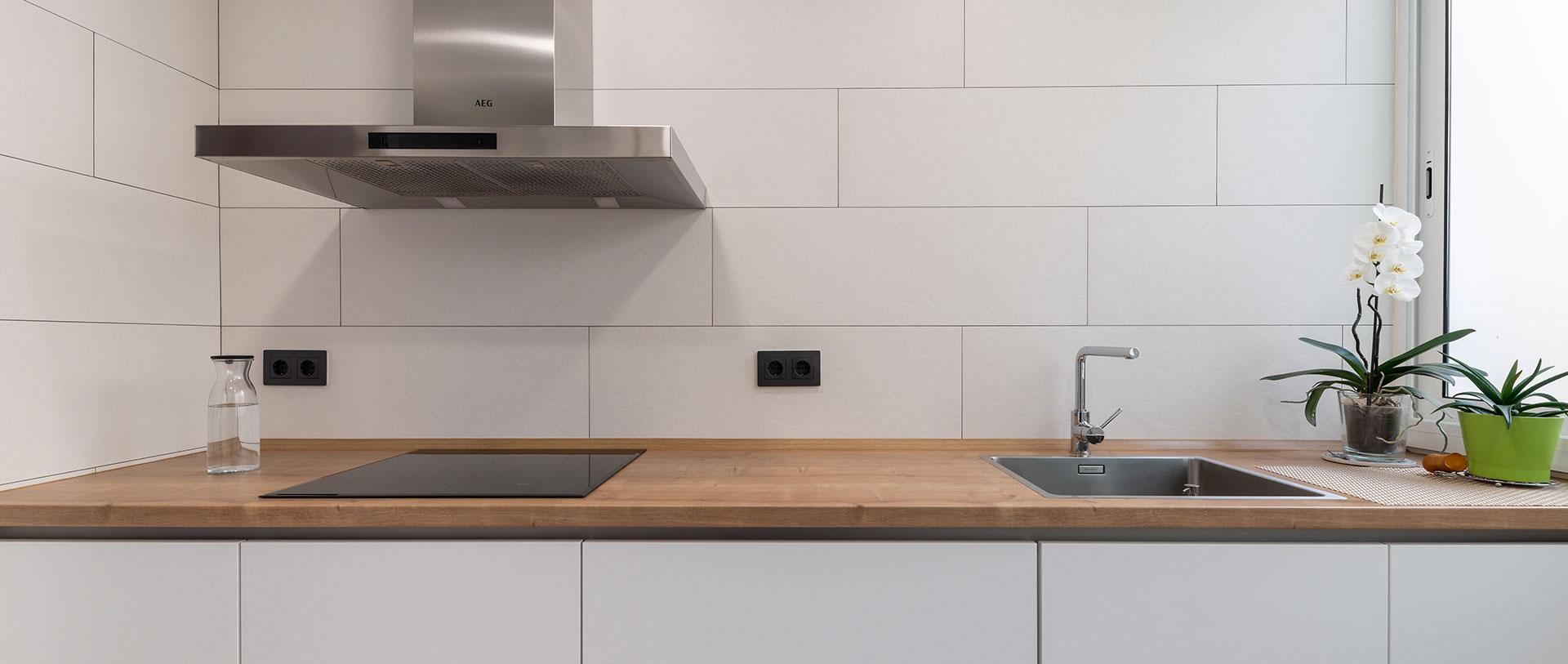 Reforma y diseño de cocina Centro 2, realizado por Dromstudio
